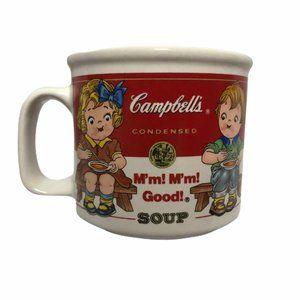 Campbell's Soup Vintage 1993 Kid's Soup Mug Bowl